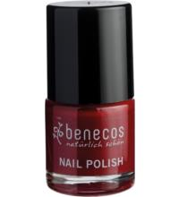 benecos Nail Polish cherry red, 9 ml Flasche