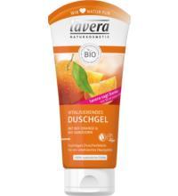 lavera Vitalisierendes Duschgel Orange & Sanddorn, 200 ml Tube