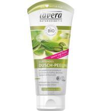 lavera Glättendes Dusch-Peeling, 200 ml Tube