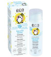eco cosmetics Baby & Kids Sonnencreme LSF 50+ neutral, 50 ml Spender
