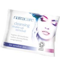 Natracare Feuchte Reinigungstücher Make-up Entferner, 20 St Packung
