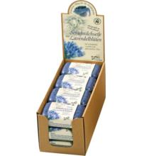 Saling Schafmilchseife Lavendelblüten, 100 gr Stück