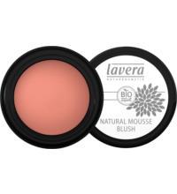 lavera Natural Mousse Blush Soft Cherry 02, 4 gr Tiegel