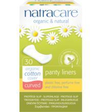 Natracare Slipeinlagen Geformt, 30 Stück Packung