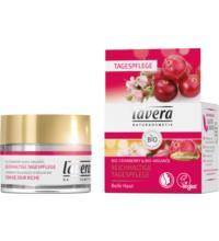 lavera Reichhaltige Tagespflege, Bio-Cranberry & Bio-Arganöl, 50 ml Tiegel
