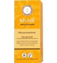 Khadi Pflanzenhaarfarbe Hellblond, 100 gr Packung