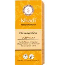 Khadi Pflanzenhaarfarbe Goldhauch, 100 gr Packung