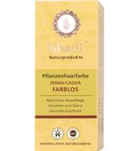 Khadi Pflanzenhaarfarbe Cassis Neutral, 100 gr Packung
