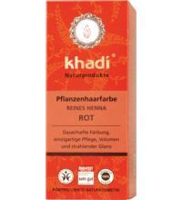 Khadi Pflanzenhaarfarbe Reines Henna, 100 gr Packung