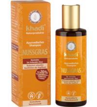 Khadi Nussgras Shampoo, 210 ml Flasche