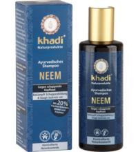 Khadi Neem Shampoo, 210 ml Flasche