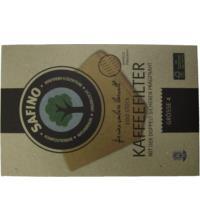 Safino Öko Kaffeefilter Gr. 4 FSC zertifiziert, 100 Stück