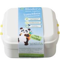 Biodora Lunchbox mit Verschluss, 11 x 11 x 5 cm, 1 Stück