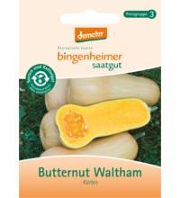 Bingenheimer Saatgut Kürbis Butternut Walthami, 1,8 gr Tüte