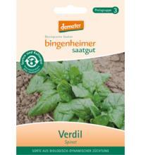 Bingenheimer Saatgut Spinat Verdil, 25 gr Tüte