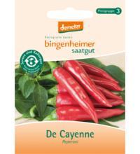 Bingenheimer Saatgut Peperoni De Cayenne, 0,2 gr Tüte