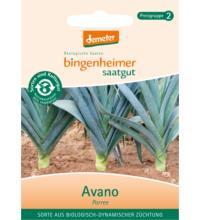 Bingenheimer Saatgut Porree Blaugrün Winter/Avano, 0,6 gr Tüte