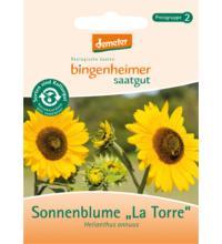 Bingenheimer Saatgut Sonnenblume, mehrblütig, 3 gr Tüte
