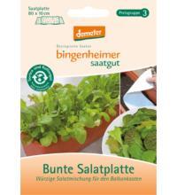 Bingenheimer Saatgut Salatmischung, Bunte Salatplatte, 1,74 gr Tüte