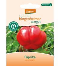Bingenheimer Saatgut Paprika, Liebesapfel,  0,2 gr Tüte