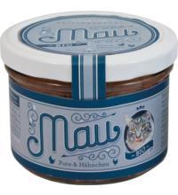 Wuff & Mau Heimtiernahrung Mau Pute & Hähnchen, 200 gr Glas