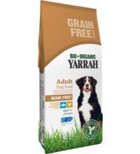 Yarrah Hundefutter Adult getreidefrei  Huhn & Fisch , 2 kg Beutel