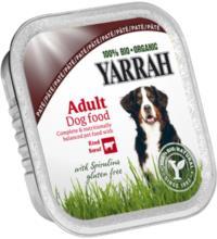 Yarrah Hundefutter Paté, 150 gr Schale