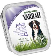 Yarrah Hundefutter Paté Truthahn mit Aloe Vera, 150 gr Aluschale