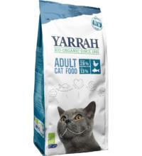 Yarrah Katzentrockenfutter mit Hering, 2,4 kg Beutel