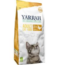 Yarrah Katzentrockenfutter mit Huhn, 2,4 kg Beutel