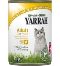 Yarrah Katzen Paté Huhn mit, 400 gr Dose