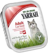 Yarrah Katzenfutter Bröckchen, 100 gr Schale