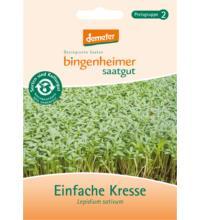 Bingenheimer Saatgut Einfache Kresse, 42 gr Tüte