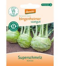 Bingenheimer Saatgut Kohlrabi Superschmelz, 3 gr Tüte