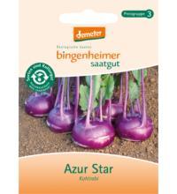 Bingenheimer Saatgut Kohlrabi Azur Star, 0,3 gr Tüte
