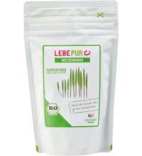 Lebepur Weizengras Pulver, 125 gr Beutel