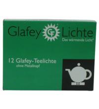 Glafey Teelicht gegossen, ohne Metallhülse, 12 Stück