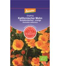 DE Bolster Kalifornischer Mohn Schlafmützchen, orange KP, 1x 1 gr Tüte