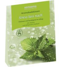 sensena naturkosmetik Aromabadekissen Stress lass nach, 60 gr Stück