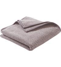 Living Crafts Handtuch infinity blue/natural striped, 1 Stück