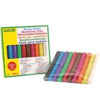 nawaro Bunte Knete, 10 Farben, 220 gr Packung