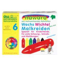 nawaro Wachs Wichtel, 6 Farben, 1 Packung