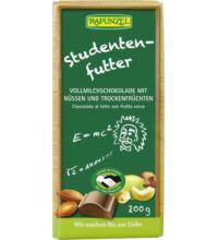 Rapunzel Studentenfutter Schokolade HIH, 200 gr Stück
