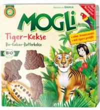 Mogli Tiger-Kekse, 125 gr Packung