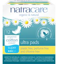 Natracare Damenbinden Ultra, 12 St Packung