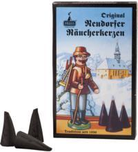 Huss Original Neudorfer Räucherkerzen Fichte/Kiefer, 24 Stück Pack