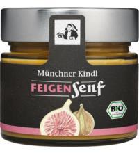 Münchner Kindl Feigen Senf, 180 ml Glas