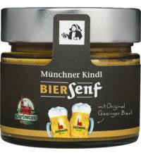 Münchner Kindl Giesinger Biersenf, 180 ml Glas