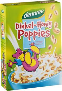 Dinkel-Honig-Poppies