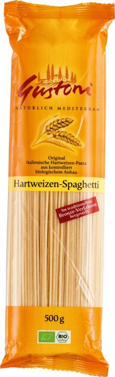 Hartweizen-Spaghetti
